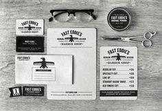 Nerdski:Inspiration | The Blog of Nerdski Design Studio #barber #brand #identity #shop