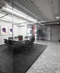 Vizor Office Interior by Studio11 - InteriorZine