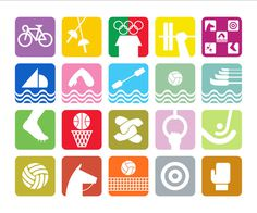 GRAPHIC AMBIENT » Blog Archive » 1968 Mexico Olympics, Mexico #60s #icons #illustration #symbol #vintage #sports #olympics