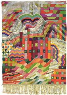 Gunta Stölzl - Bauhaus Master #fabric #process #tapestry #geometric #concepts #textile #sketch
