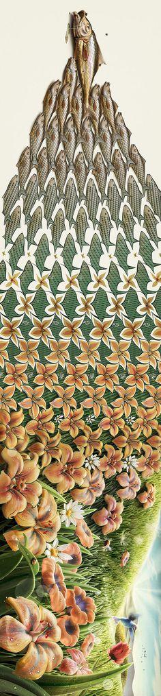 Creative Cartoonish Illusions By Oscar Ramos | Cuded #ramos #oscar #cartoonish #illusions