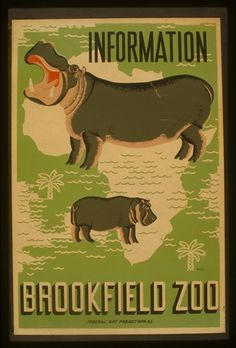 3f05576v.jpg (694×1024) #pattern #hippo #illustration #vintage #type