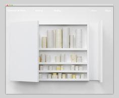 Edmund de Waal #website #layout #design #web