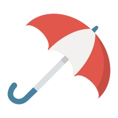 See more icon inspiration related to umbrella, rain, weather, protection, rainy, umbrellas and Tools and utensils on Flaticon.
