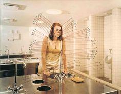 06.JPG (JPEG Image, 720x564 pixels) #photography #sink #woman #bathroom