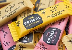 The Primal Kitchen #packaging #wrapper #bar