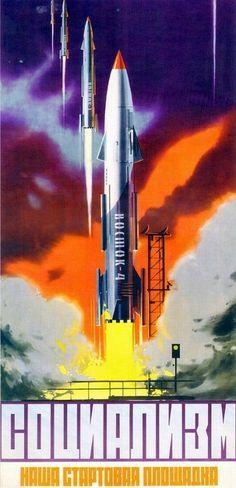 Gavin Rothery - Directing - Concept - VFX - Gavin Rothery Blog - Soviet Spacepropoganda #soviet #poster #propoganda