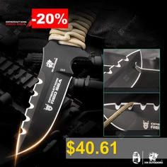 HX #OUTDOORS #D-178 #440C #Blade #Outdoor #Steel #Handle #Survival #Knife #with #Tactical #DIY #Hand #Tools