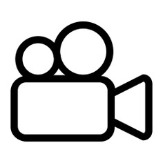 See more icon inspiration related to film, cinema, video camera, movie, video cameras, technology and on Flaticon.