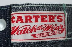 vintage workwear #workwear #label