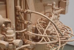 Technology and Trees: The Sculpture of Roxy Paine in main artCategory #art #wood #sculpture