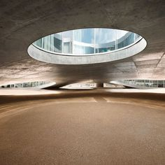 Dezeen » Blog Archive » Rolex Learning Centre by SANAA #center #design #architecture #learning #epfl