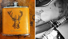 Oliver Sweeney Tattooed Goods #oliver #sweeney #flask #hit #tattooed