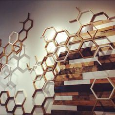 West Elm Hexes #interior #hex #pattern