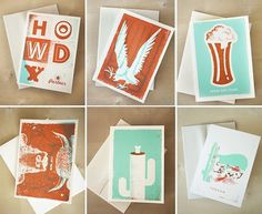 _cards_all.jpg (JPEG Image, 592×485 pixels) #letterpress #typography