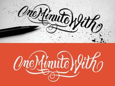 Omw #logotype #vector #sketch #lettering