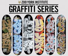 zooyork_graffiti_pro_series_decks.jpg (540×450) #graffiti #illustration