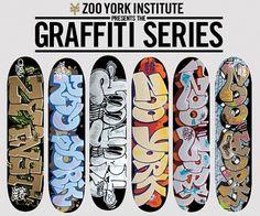 zooyork_graffiti_pro_series_decks.jpg (540×450) #illustration #graffiti