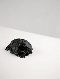Stephan Balleux - bullet proof's anatomy #sculpture #balleux #art #skull #stephan