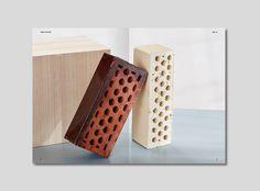 Terhi Pölkki A/W 2016 look book. Design Tony Eräpuro #lookbook #fashion #finland #shoes #layout #brick