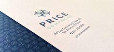 Price Companies Letterhead Detail #pattern #letterpress #logo #blue #letterhead #green