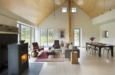 Farmstead Passive House in Vermont for the Modern New England Family