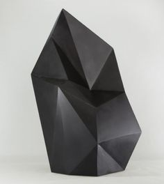 axel brechensbauer's faceted paintings