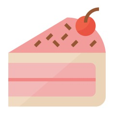 See more icon inspiration related to cake, dessert, food, sweet, baker, slice, birthday and party, food and restaurant, cake slice and bakery on Flaticon.