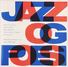Jazz in Denmark - rare record album covers