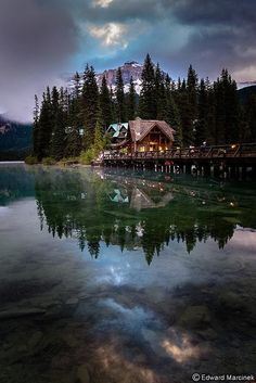 Emerald Lake, Yoho National Park, Canada. #inspiration #photography #place #favourite
