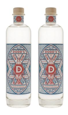 Dodd's Gin #packaging #geometry