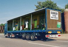 Golf Truck advertisement idea #ideas #ads