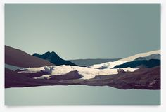 \'Outliers, Volume I: Iceland\' poster series on Behance