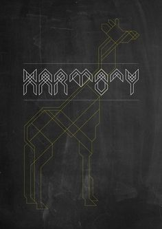 Harmony Typeface on the Behance Network #typeface #typography