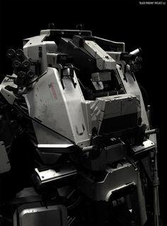 """Black phoenix project"" Art of Vitaly Bulgarov #robotics"