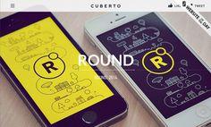 Cuberto designed by cuberto #ux #design #ui #minimal #web