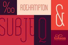 Roehampton style tile. https://creativemarket.com/gibsontypefoundry/62656-Roehampton #font #lettering #letters #retro #gibson #ampersand #type #layout #roehampton #typography