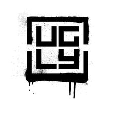 Ugly Brand Inc #spray #box #paint #square #skate #logo #ugly