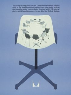 Discover - Herman Miller #miller #molded #modern #chair #furniture #mid #century #plastic #herman #eames
