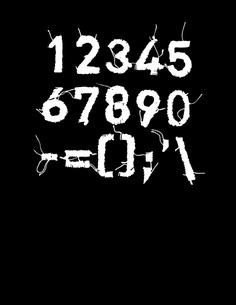 PENDUKA embroidery typography