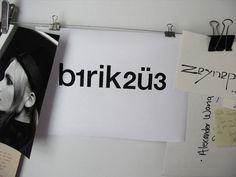 b1rik2ü3 logotype design  for Zeynep Yener