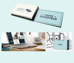 Auberge Handfield — The Dieline #packaging #meat