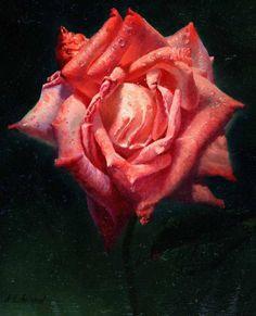 Rose Paintings by Alexei Antonov #antonov #rose #alexei #paintings