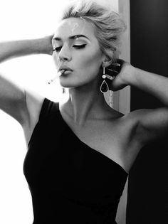 Kate Winslet by Alexi Lubomirksi for Harper's Bazaar UK #girl #fashion #photography #fashion photography #model #portrait #beauty