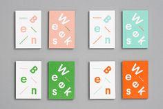 Ben Weeks by Tung #branding #business card