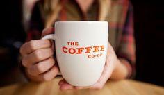 design work life » cataloging inspiration daily #coffee #type #orange #mug