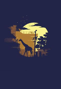 The Last of Us Poster #last of us #playstation #game #artwork #poster #giraffe #naughty dog