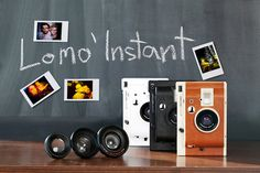 An instant camera appealing to both creative newbies and photography know-hows, its easy use as well as its gorgeous photo quality makes it #modern #design #product #industrial #technology
