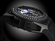 linde werdelin spidospeed black diamond watch 1