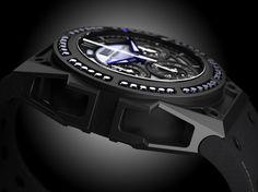 linde werdelin spidospeed black diamond watch 1